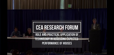 Description: Role and practical application of technology in assessing expected performance of houses