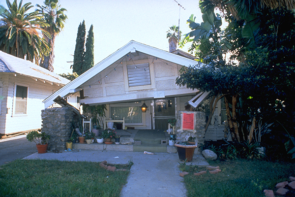 A house destroyed by the Northridge earthquake. Source: FEMA News