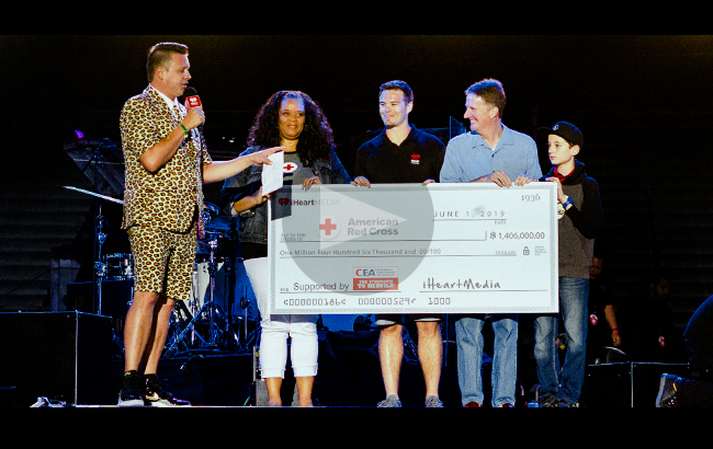 It was another successful year for the Get Prepared California! Auction. CEA presented this year's auction proceeds to American Red Cross at the Wango Tango concert in Los Angeles.