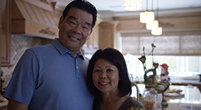 Peter and Mee-Sun Joe value earthquake insurance now more than ever before, and also received a reduced rate on their homeowners insurance