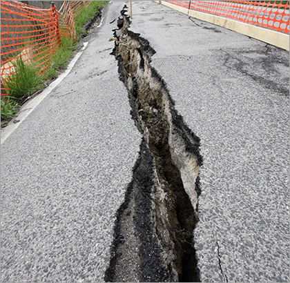 No area of California is without earthquake risk, and some terrains increase the risk of house damage from seismic activity. Read our information on geologic hazards, from ground shaking and surface rupture to landslides and liquefaction.