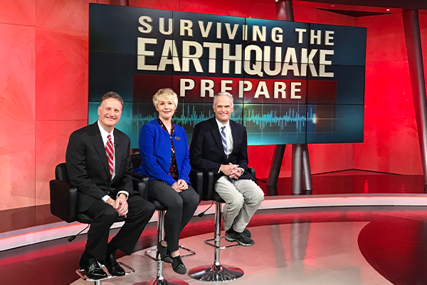 TV Special Shows How to Prepare for an Earthquake in California
